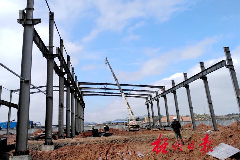 吊装厂房钢结构