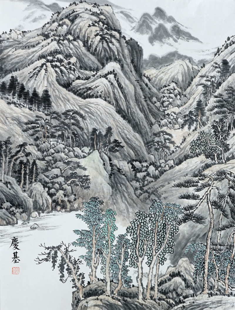 幽谷 (中国画)