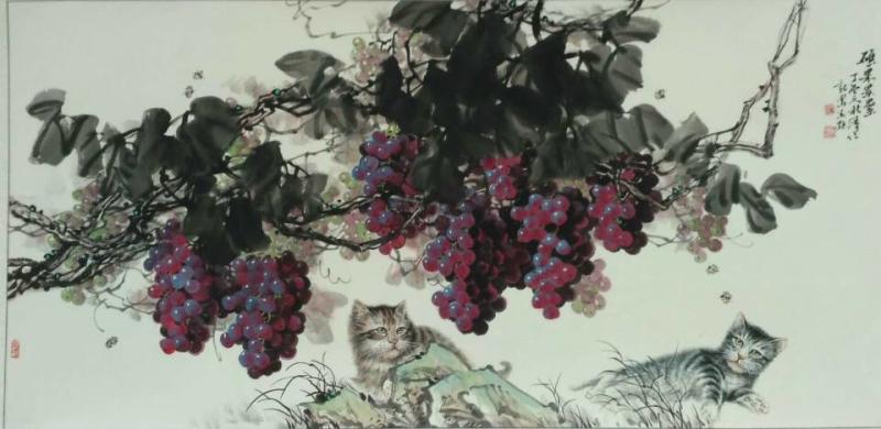硕果累累(中国画)