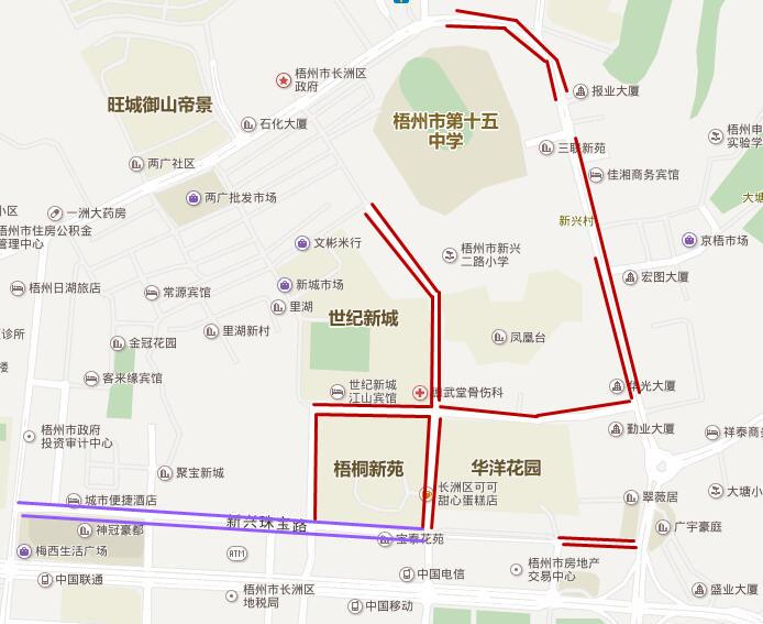 梧州地图全图高清版