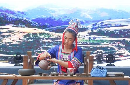 2018年梧州市茶艺技能大赛昨举行