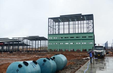 陶瓷企业建设厂房