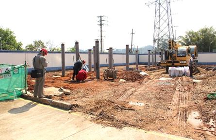 变电站设施基础施工