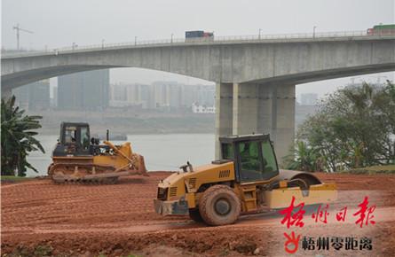 长洲岛防洪堤南堤扩建