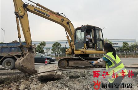梧州高新区工业大道提升改造