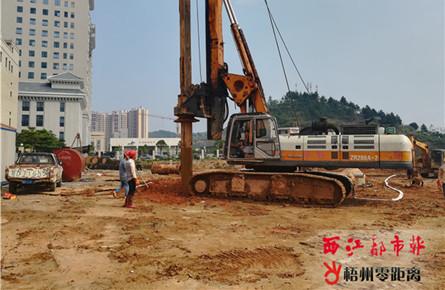 红岭新区新建富民投资大楼