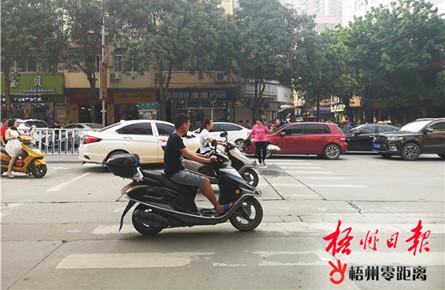 市民交通安全意识还需提高