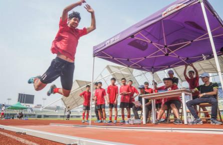 全国青运会足球与田径全能项目决赛在梧举行