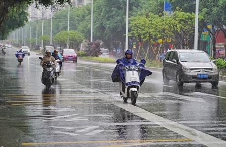 未来三天降雨将加强