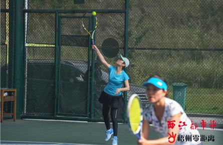 梧州青运会网球项目开拍