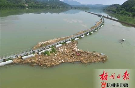 拦截江河垃圾