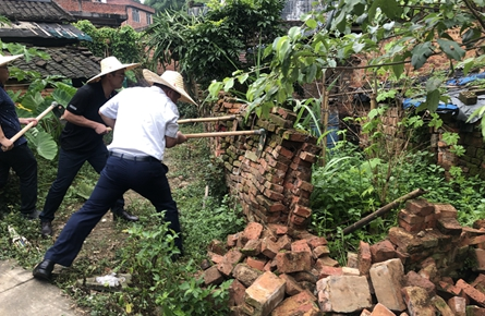 夏郢镇开展新一轮环境整治