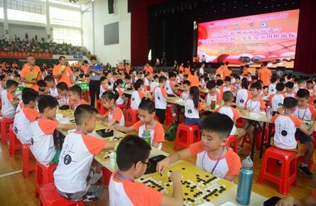 少儿围棋锦标赛开赛