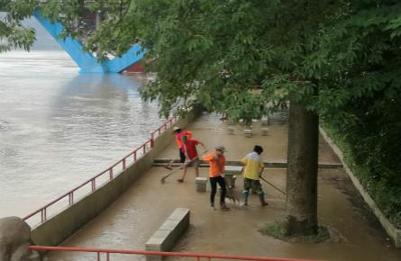 梧州发布洪水蓝色预警