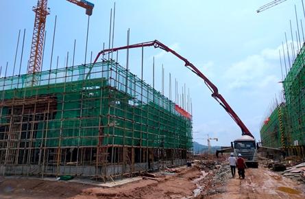 正威项目加快厂房建设