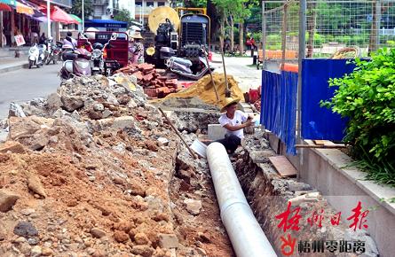 潘塘公园改造收尾