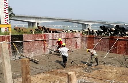 苍梧县水厂扩建工程开工 缓解龙圩区供水不足状况