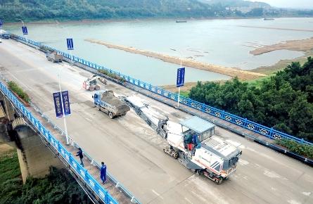 西江大桥封闭施工