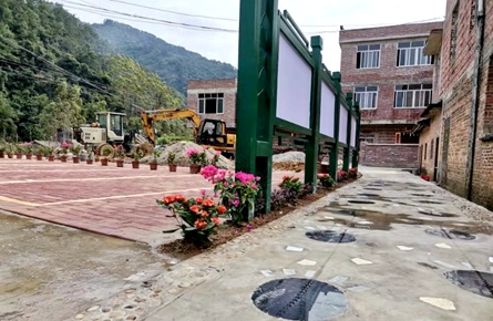 苍梧县狮寨镇稳步推进乡村振兴示范点