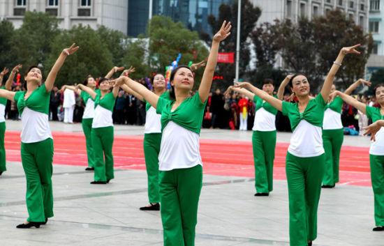 """""""苍海杯""""中国少数民族广场舞大赛11月3日举行"""