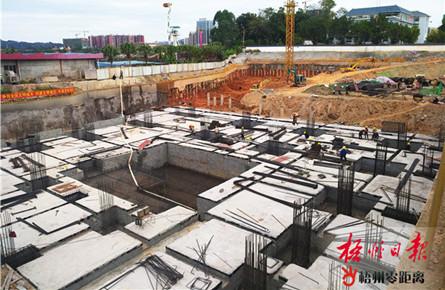 梧州书城加快建设