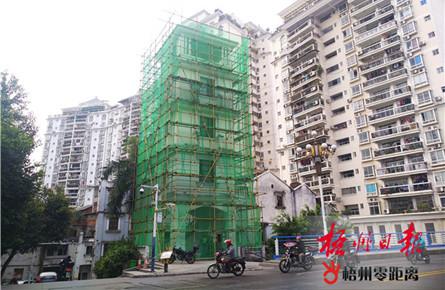 桥头塔楼升级改造