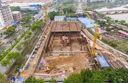 梧州书城项目预计年底基本完工
