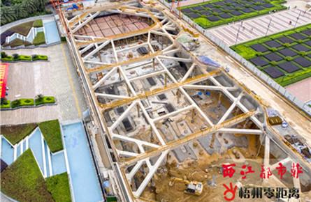 建设地下停车场