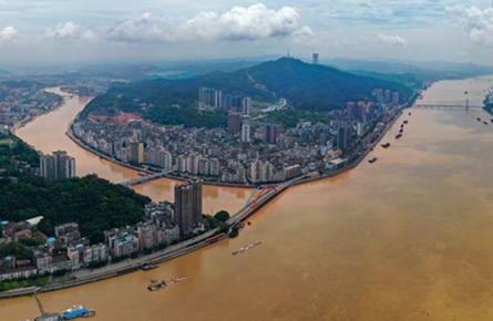 西江1号洪峰过梧州