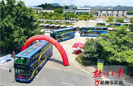 """104台新能源公交车将""""上岗"""""""