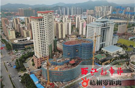 富民投资大楼今年9月封顶