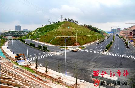 四条道路将于国庆节前通车