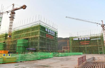 产业园加快设施建设