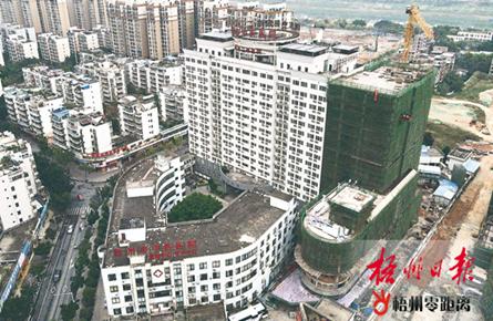 建设住院医技综合楼