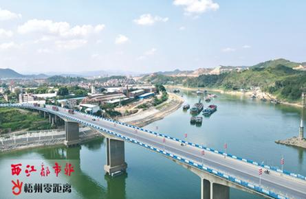 紫竹大桥换新貌