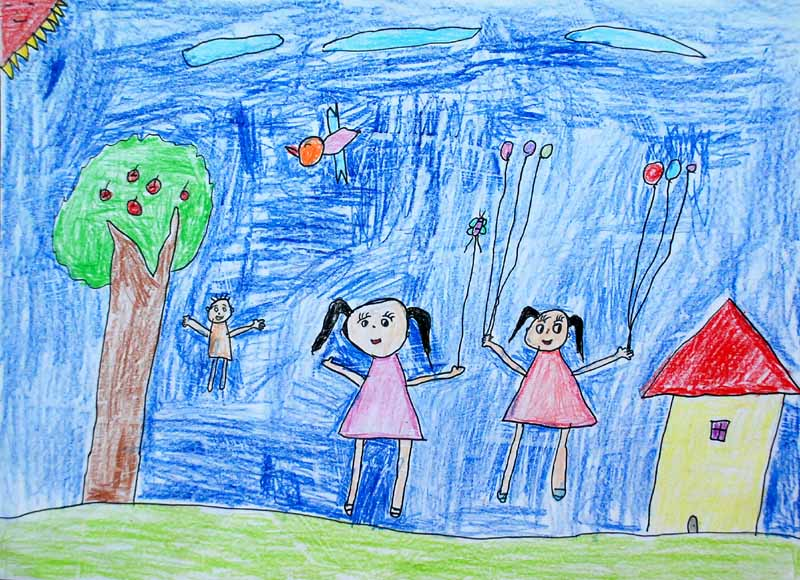 宝石节儿童图画