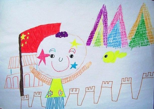 梧州宝石节儿童图画