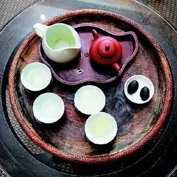 松萝茶具展示