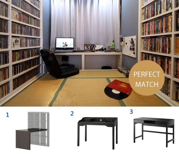 书柜 书桌 椅子 书房搭配的重点