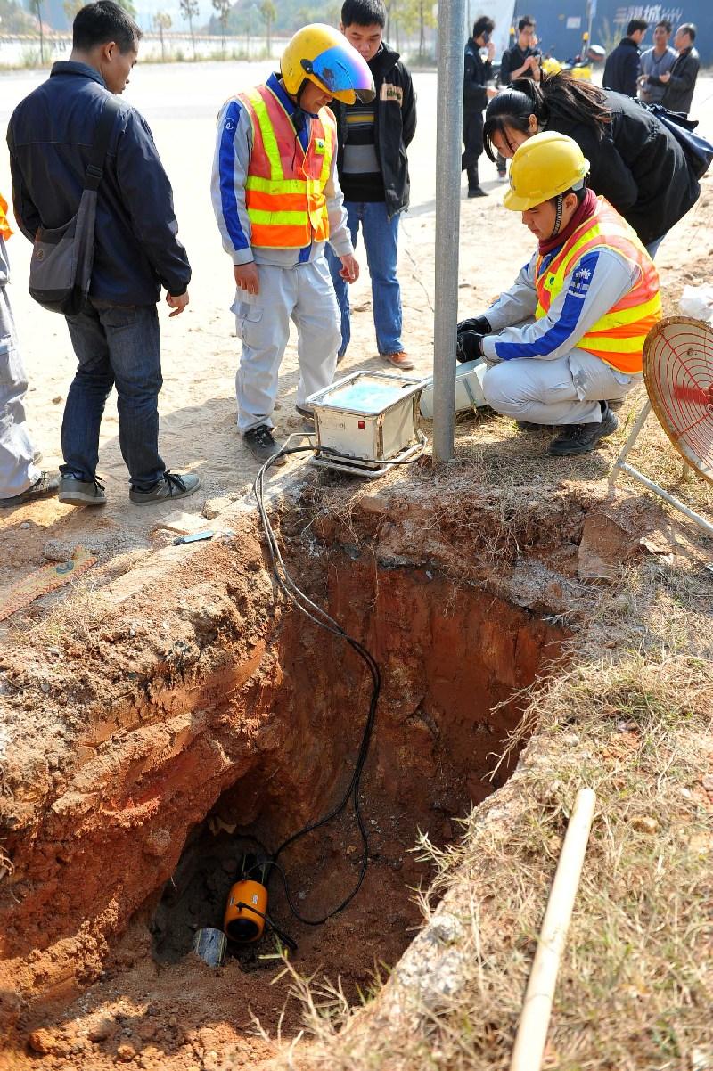 施工不慎挖破燃气管道