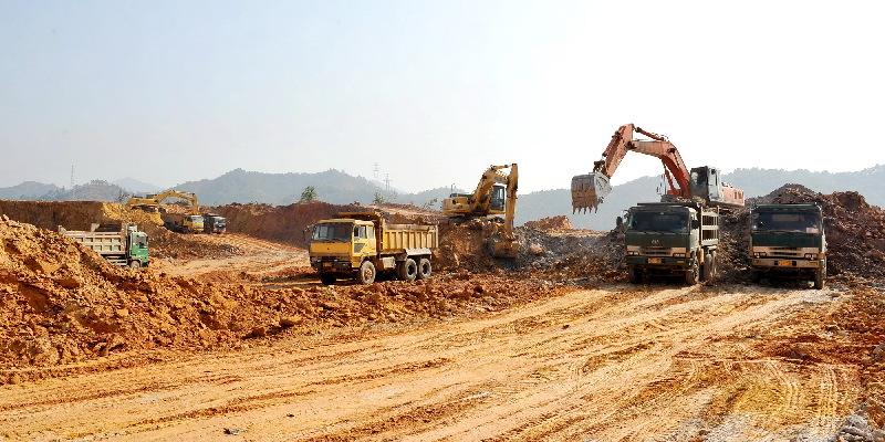 梧州零距离问政网_产业园区加快土地平整