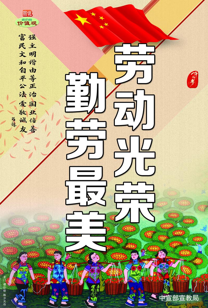 中国梦 劳动美