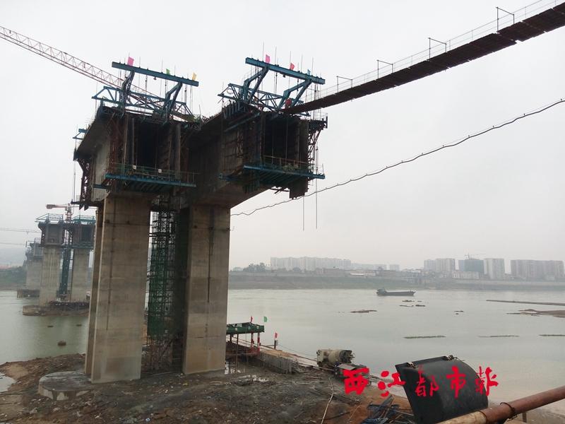 管道桁架施工照片