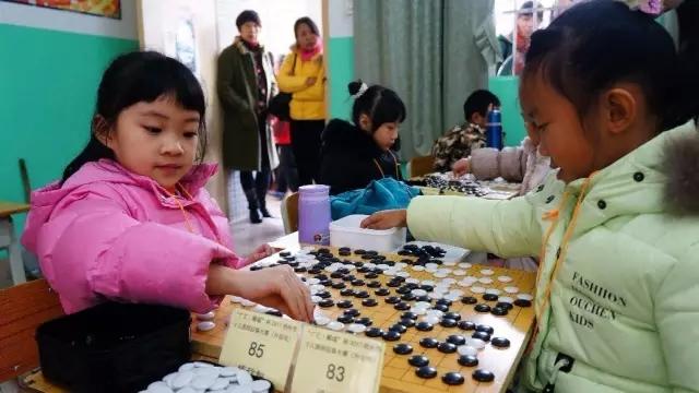 全市最大规模少年儿童围棋比赛昨日开赛图片