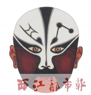 粤剧边框花纹简笔画